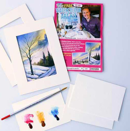 Free Watercolour Painting Kit (Worth £15)