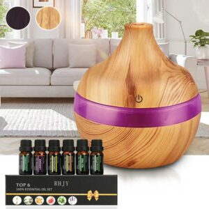 Aroma Essential Oil Humidifier – 91% Off Today!