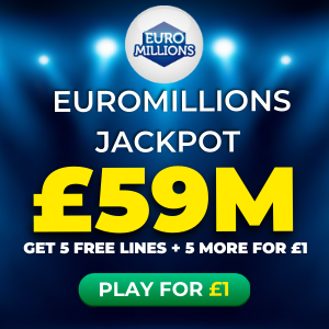 Free EuroMillions Tickets (£59M Jackpot)