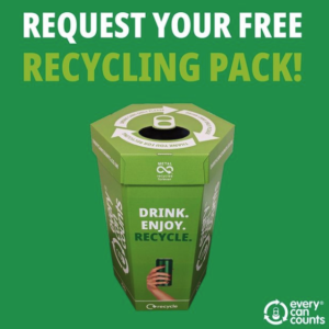 Free Recycling Cans Box