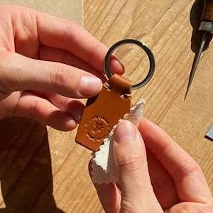 Free Leather Keyring (Worth £15)