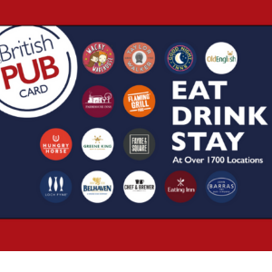 Free £20 Eat Drink Stay Card