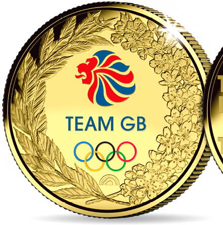 Free Official Team GB Olympic Medal