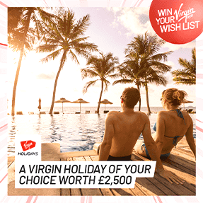 Win Your Virgin Red Wish List – Luxury holidays, Cash and More
