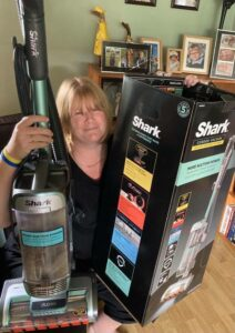 Woman Claims a FREE Shark Hoover Worth £369!
